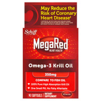 MegaRed Superior Omega-3 Krill Oil 350mg 90 ea